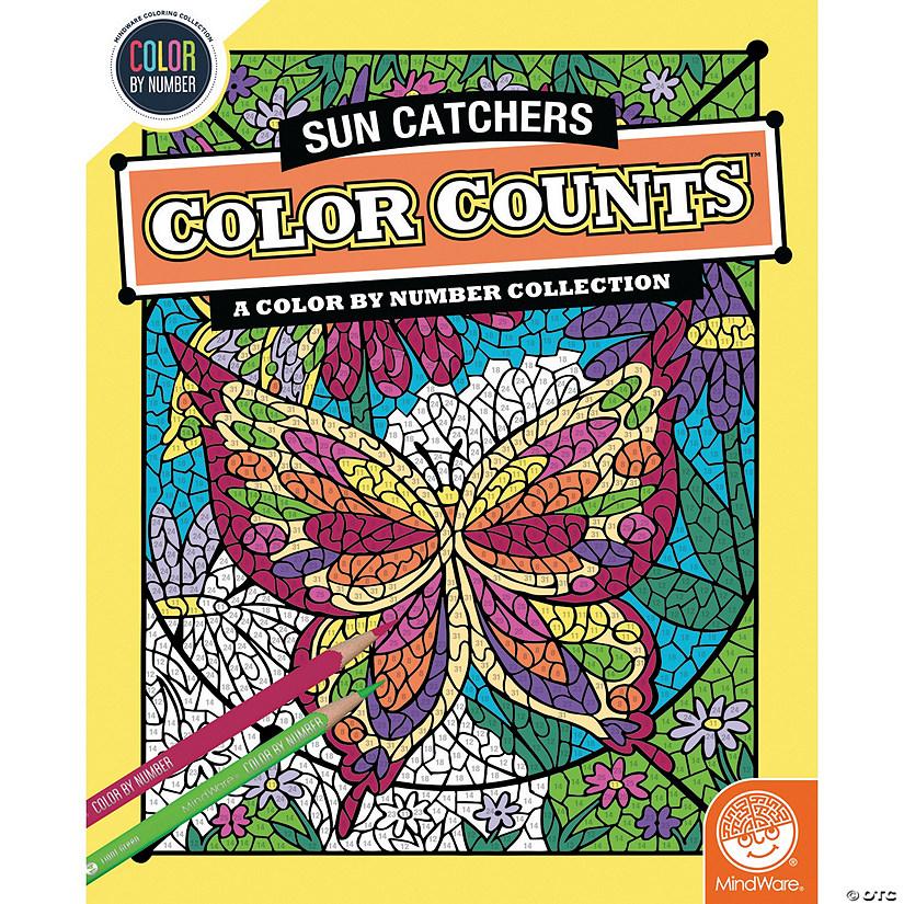 Color By Number Color Counts Suncatchers