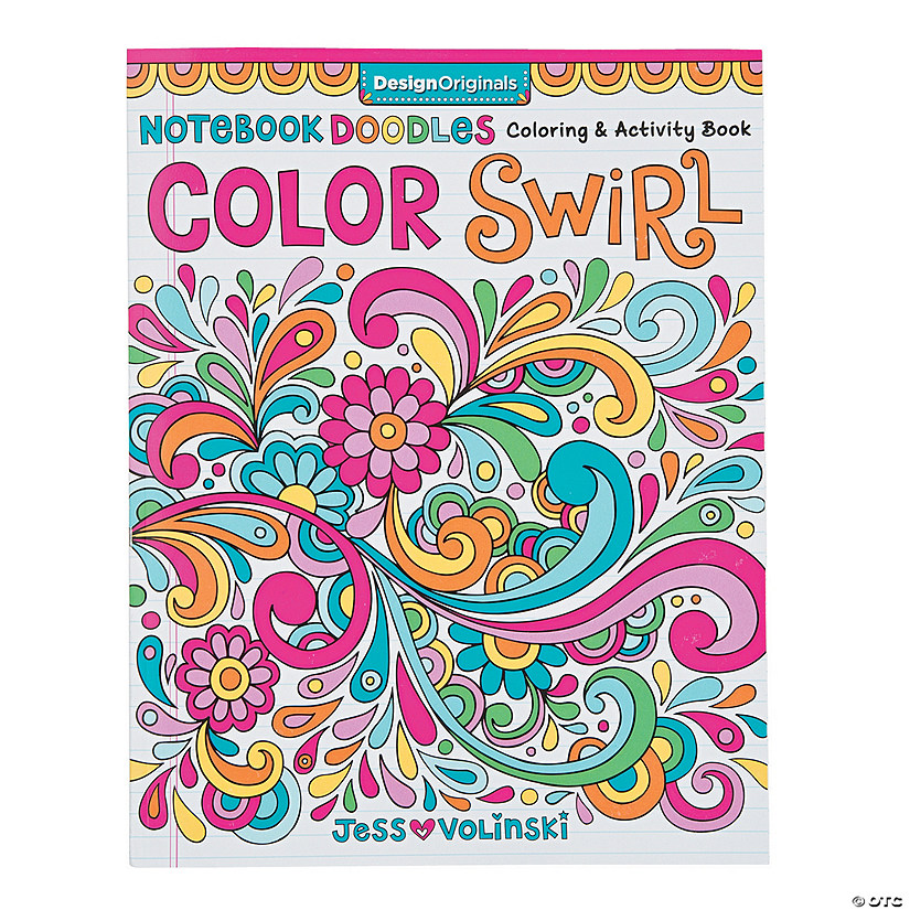 Color Swirl Coloring Book