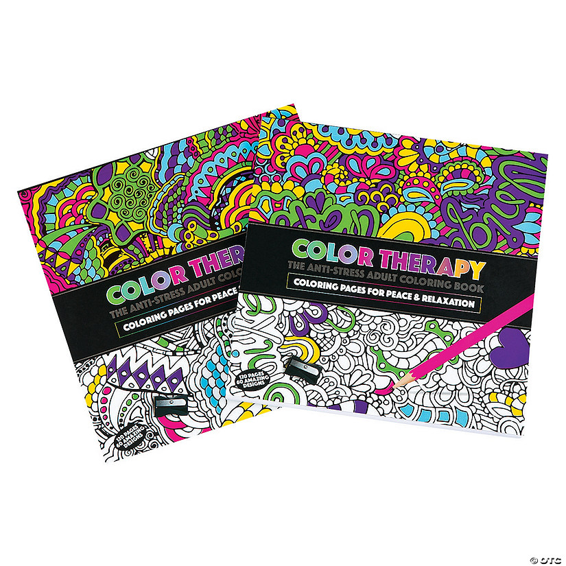 Color Therapy Coloring Books - Discontinued