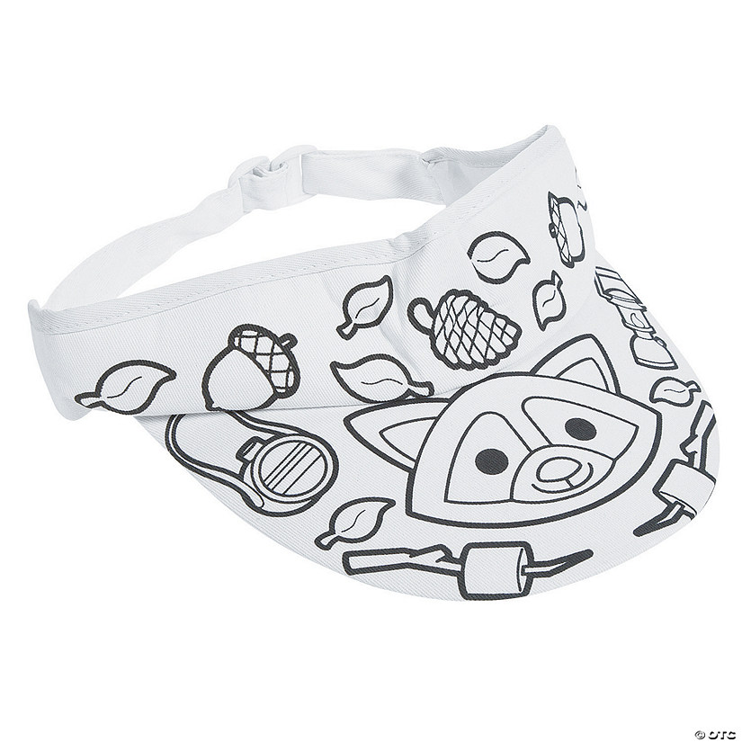Color Your Own Camp Visors
