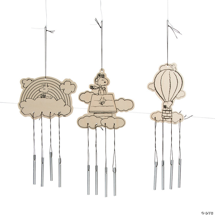 Color Your Own Peanuts® Wind Chimes