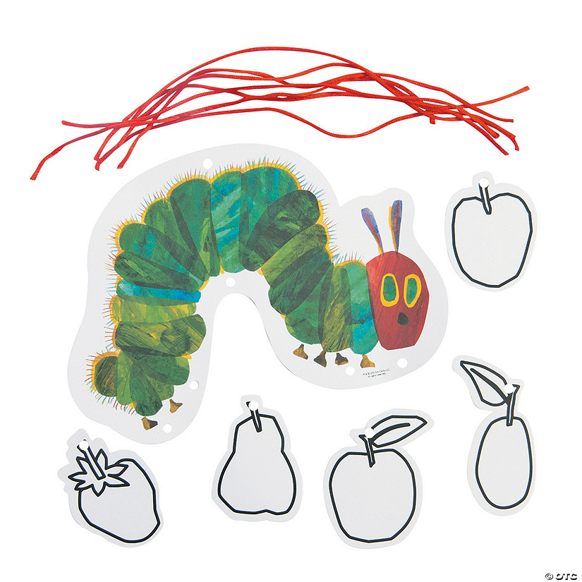 Color Your Own The Very Hungry Caterpillar™ Mobile Craft Kit