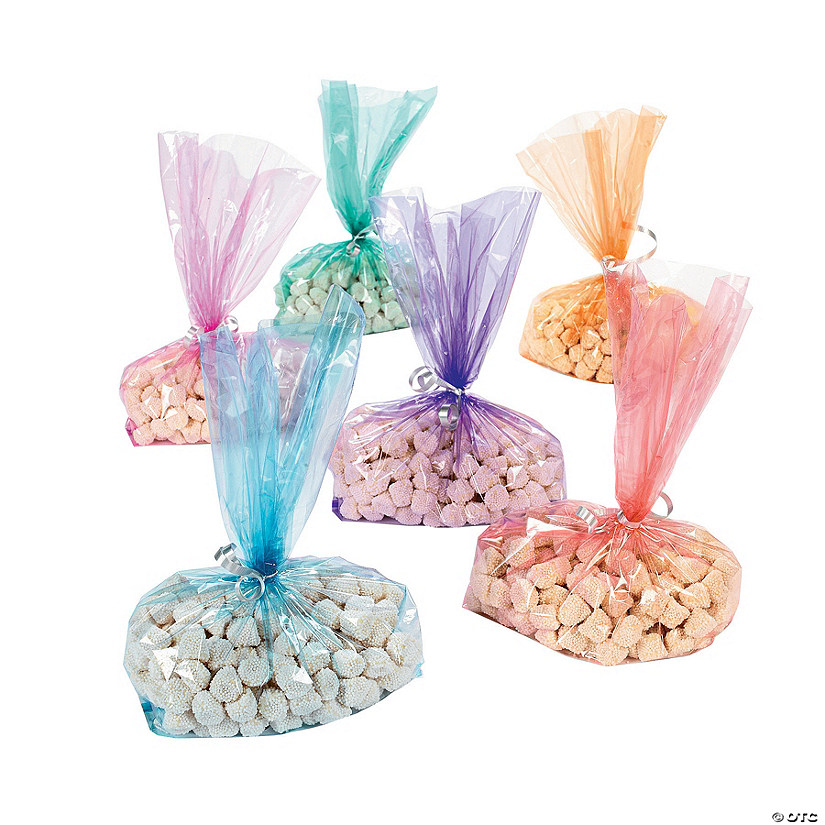 Colored Cellophane Bags Assortment