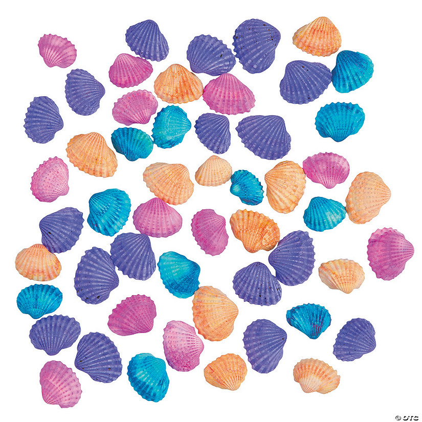 Colored Clamrose Sea Shells