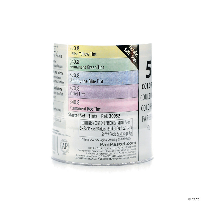 Colorfin Pan Pastel Starter Set Tint