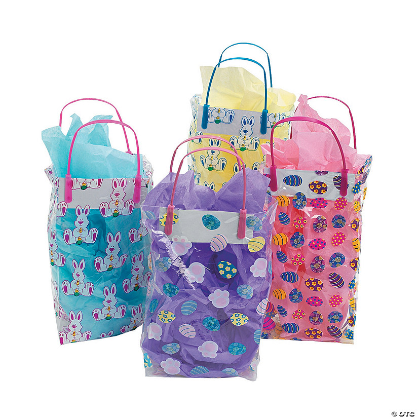 Colorful Pattern Easter Goody Bags