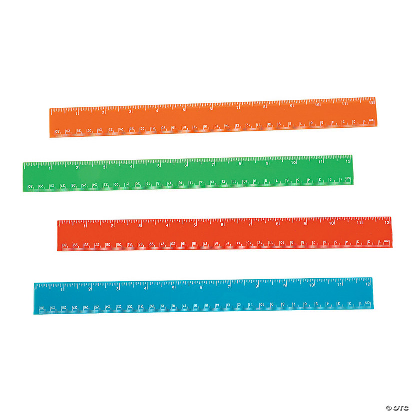 Colorful Rulers