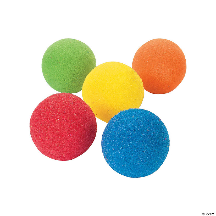 Colorful Sponge Ball Assortment