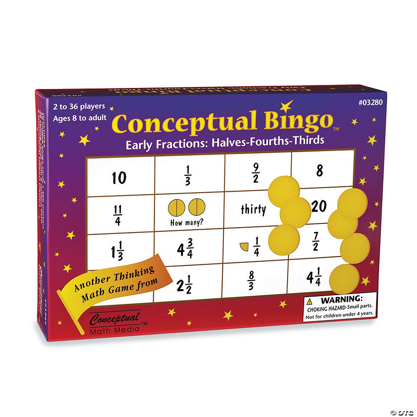 Conceptual Bingo: Early Fractions