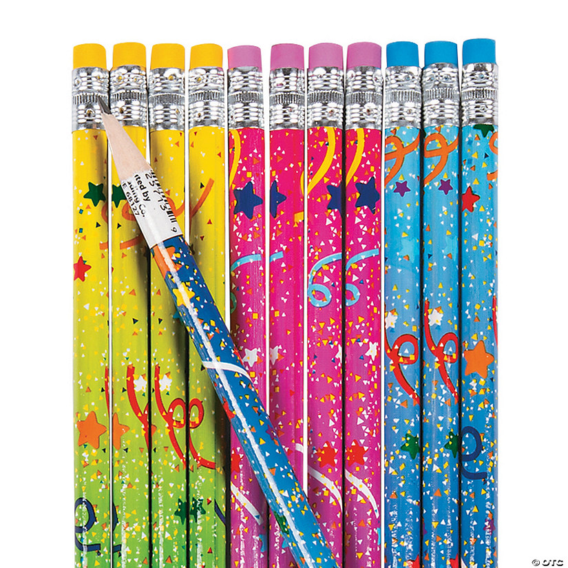 Confetti Pencils