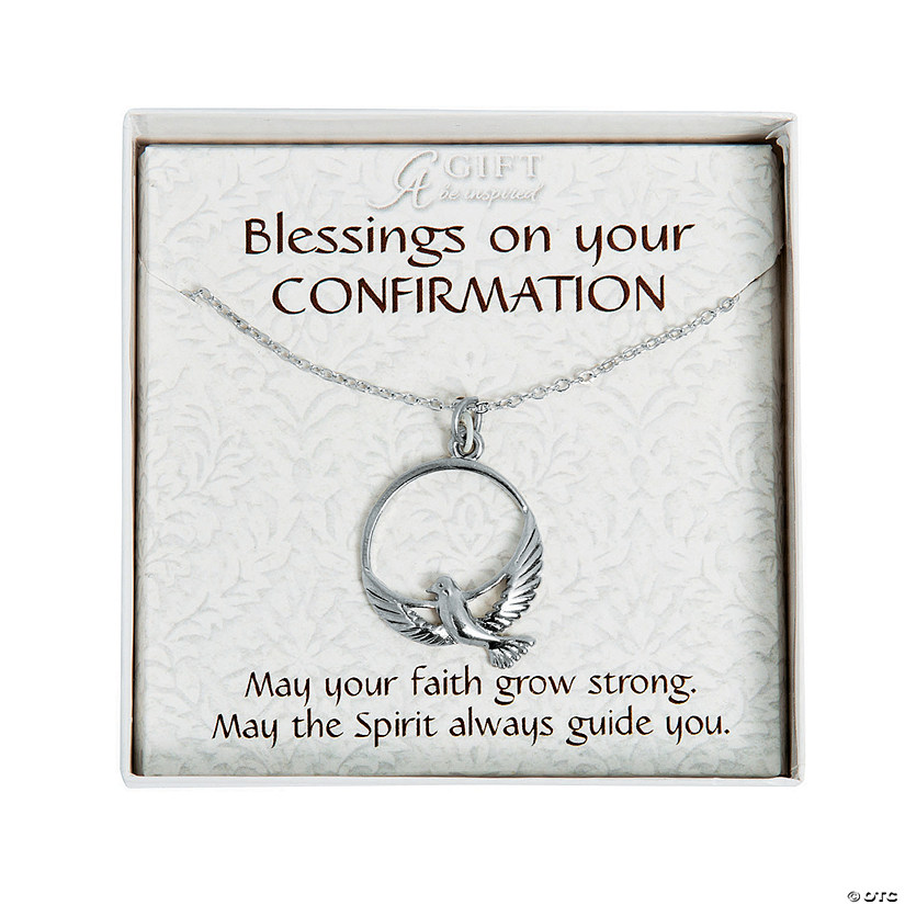 Confirmation Dove Pendant Necklace