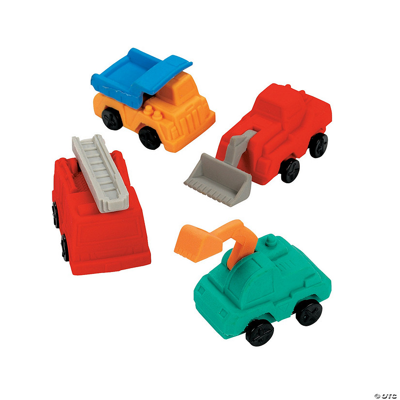 Construction Truck Erasers