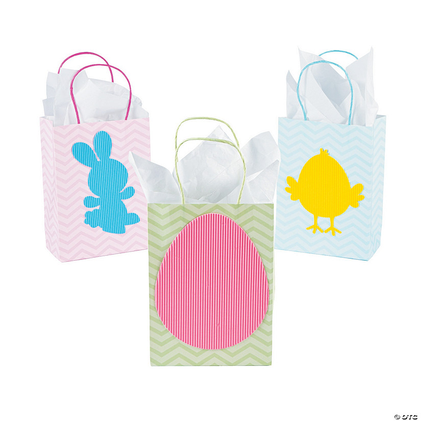 Corrugated Easter Goody Bags
