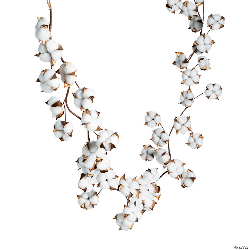 Cotton Plant Garland