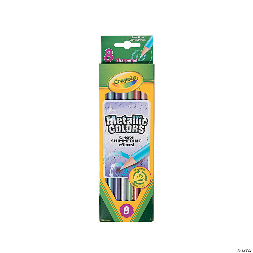 Crayola® Metallic Colored Pencils