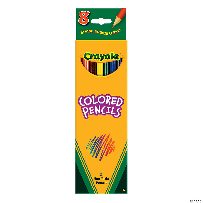 Crayola<sup>®</sup> Color Pencils - 8 pcs.