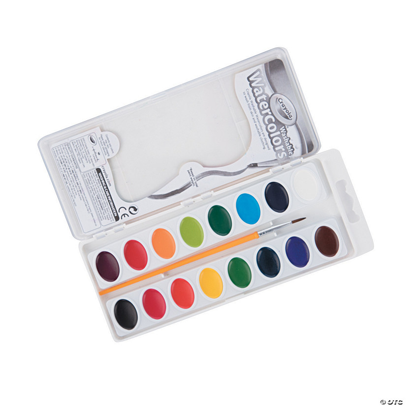 Crayola® Washable Watercolor Paint Trays