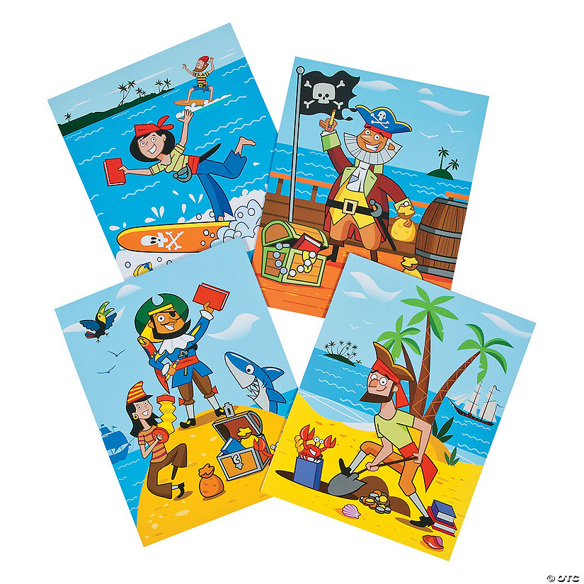 Crazy Pirates Pocket Folders