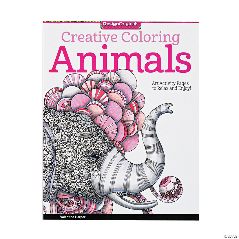 Creative Coloring Book: Animals