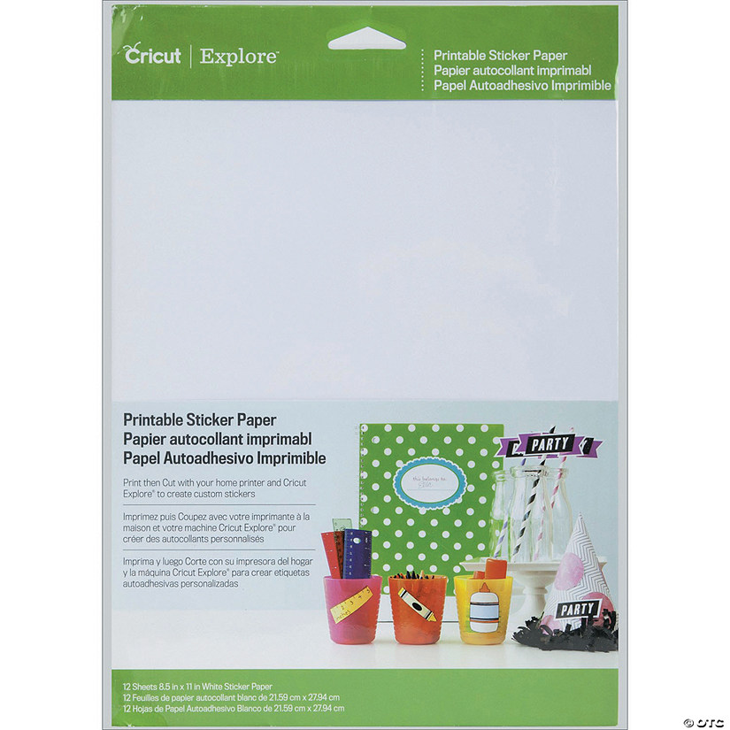 Cricut Sticker Paper-