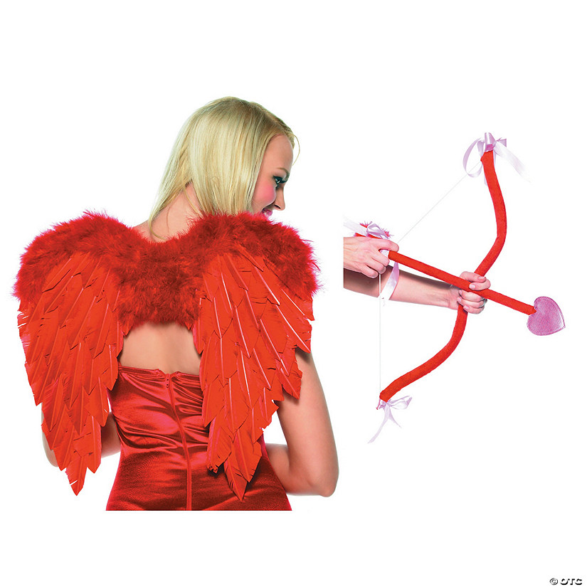 Cupid Bow, Arrow & Wings Costume Kit