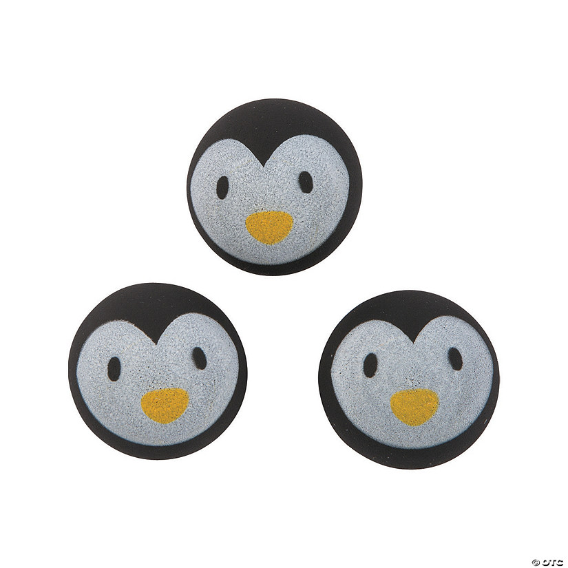 Cute Penguin Bouncy Balls