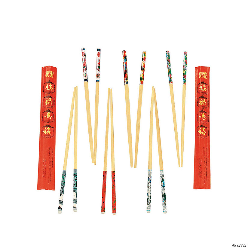 Decorated Wood Chopsticks