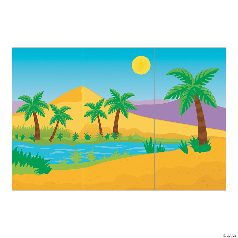 Desert Oasis Backdrop