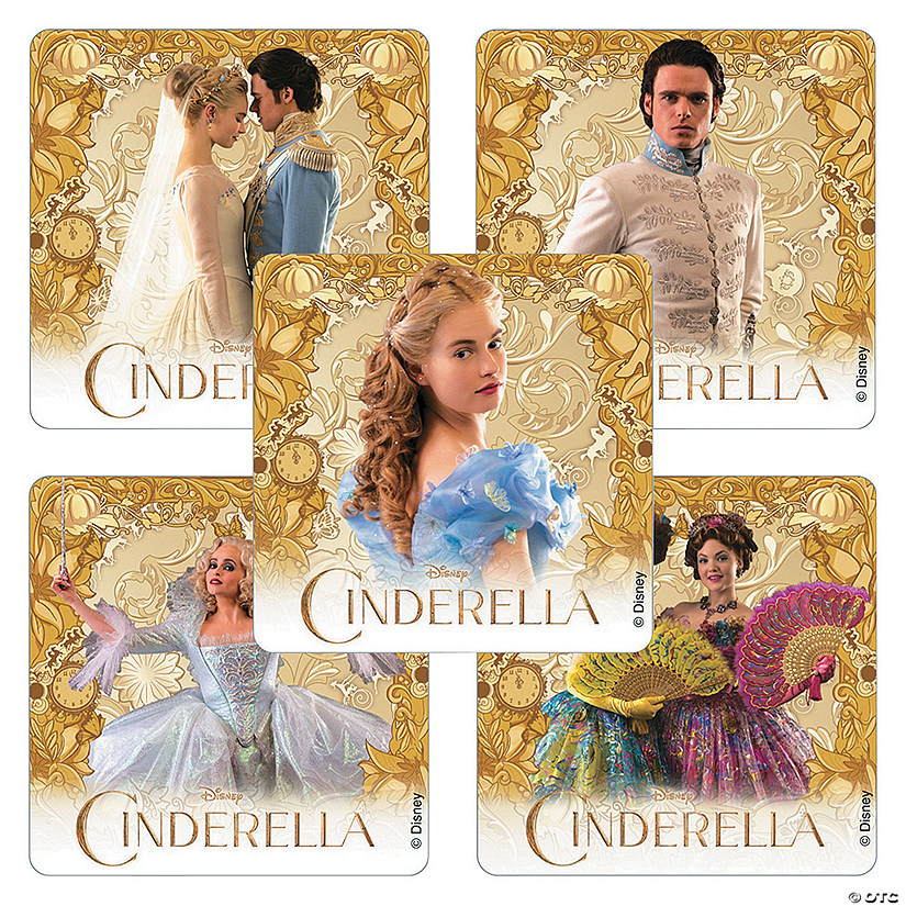 Disney® Cinderella Movie Stickers