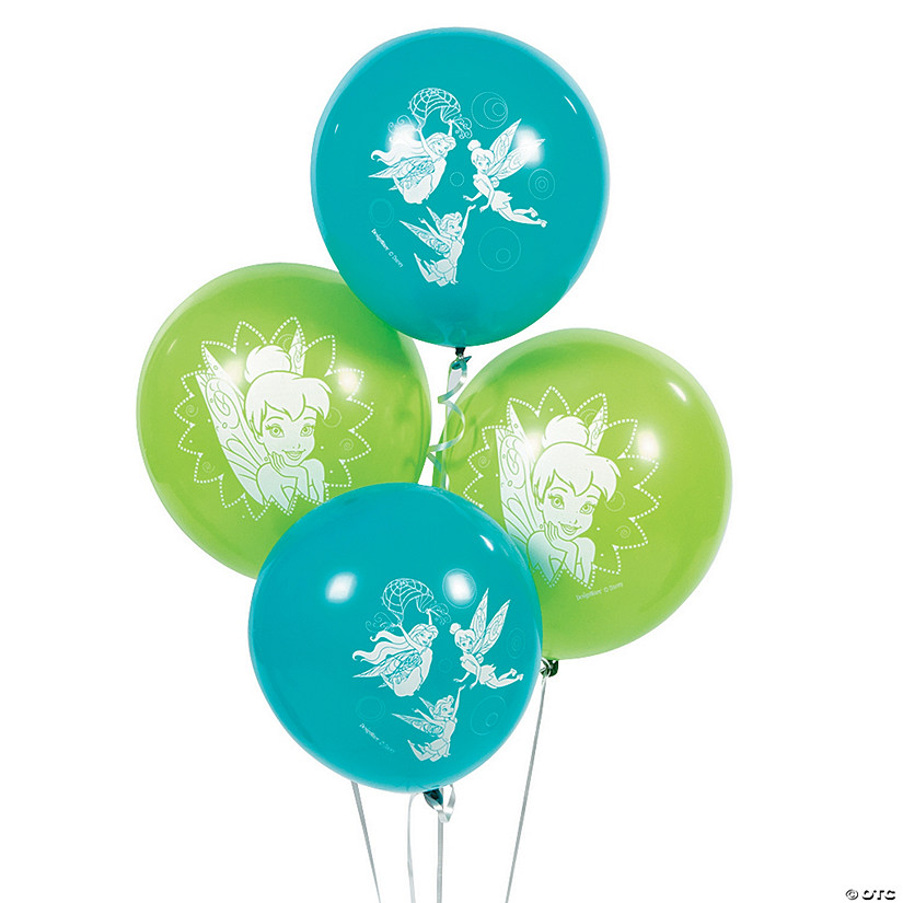 "Disney Fairies Tinker Bel 12"" Latex Balloons"