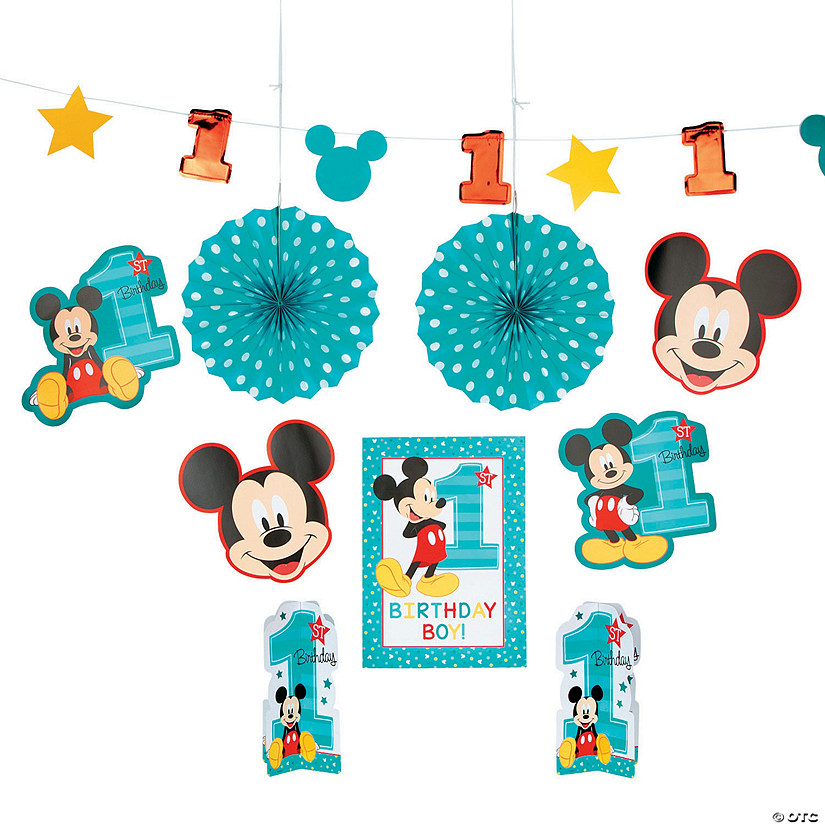 Disney® Mickey's Fun To Be One Room Decorating Kit