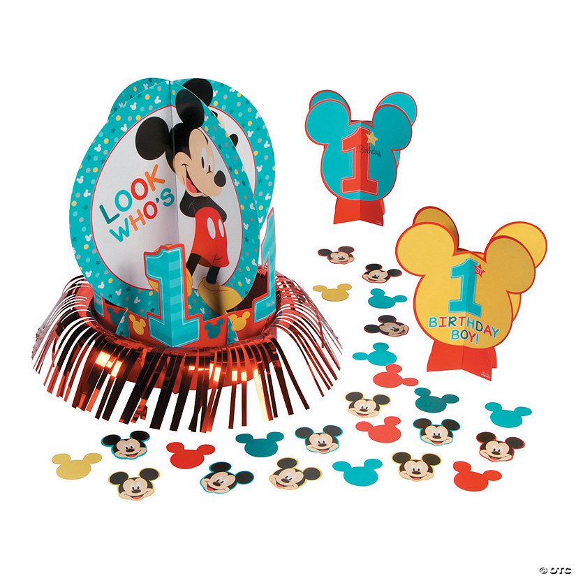 Disney® Mickey's Fun To Be One Table Decorating Kit