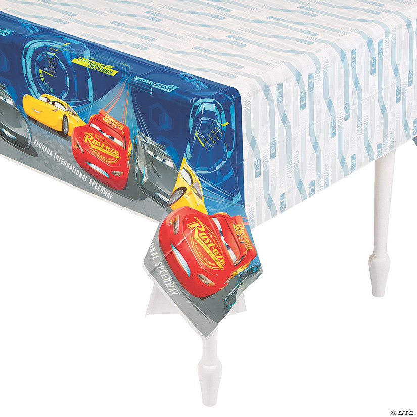 Disney's Cars 3<sup>®</sup> Plastic Tablecloth