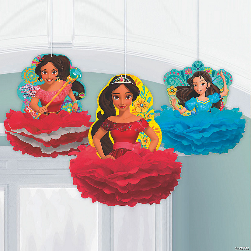 Disney's Elena Fluffy Hanging Decorations
