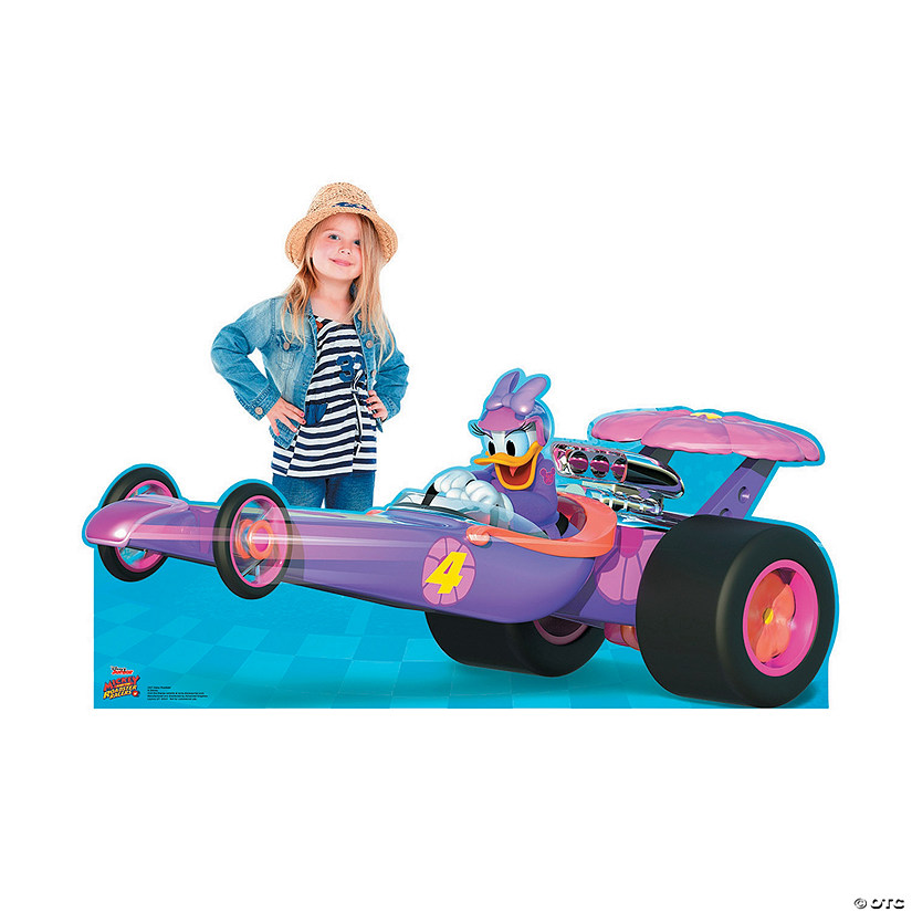 Disney's Mickey & the Roadster Racers<sup>™</sup> Daisy Duck Car Stand-Up