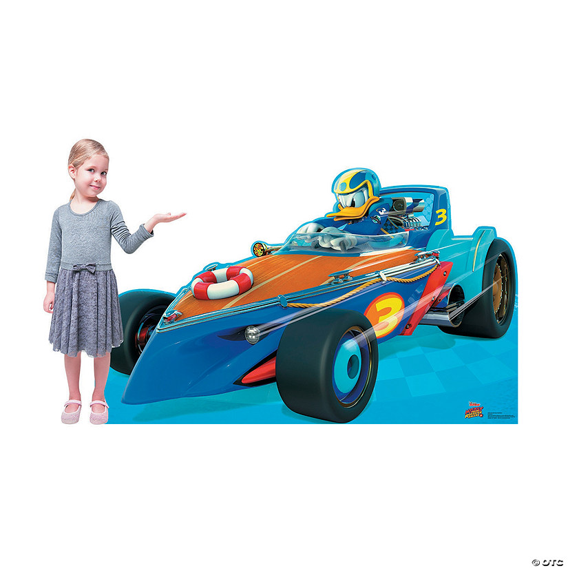 Disney's Mickey & the Roadster Racers<sup>™</sup> Donald Duck Car Stand-Up