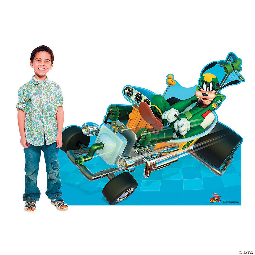 Disney's Mickey & the Roadster Racers<sup>™</sup> Goofy Car Stand-Up