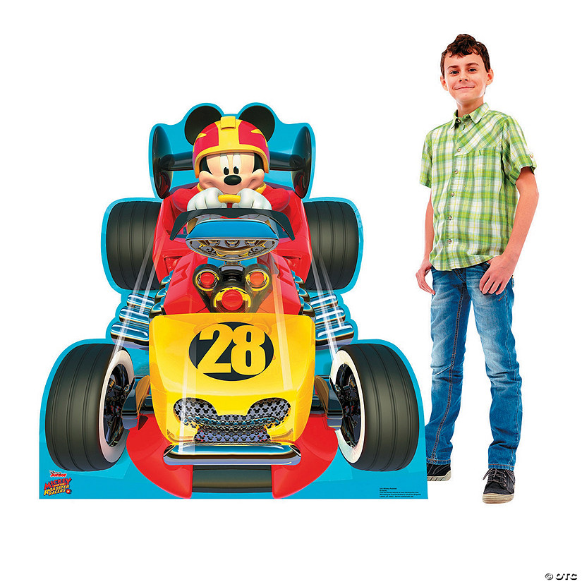 Disney's Mickey & the Roadster Racers<sup>™</sup> Mickey's Roadster Stand-Up