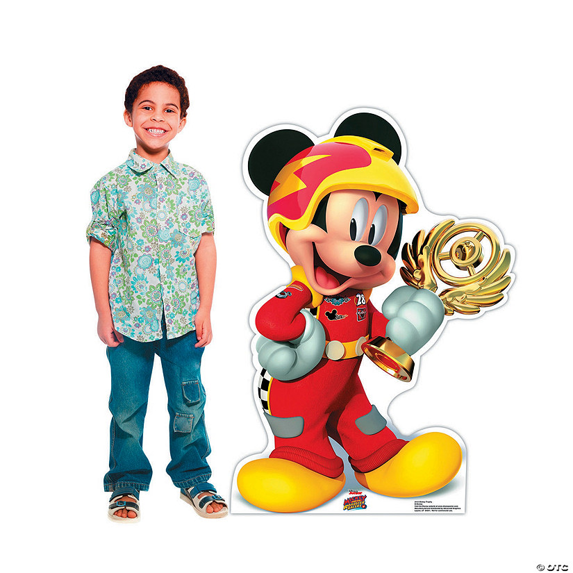 Disney's Mickey & the Roadster Racers<sup>™</sup> Mickey Trophy Stand-Up