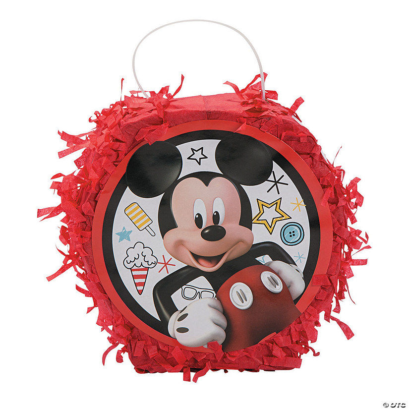 Disney<sup>®</sup> Mickey On The Go Piñata Favor Container
