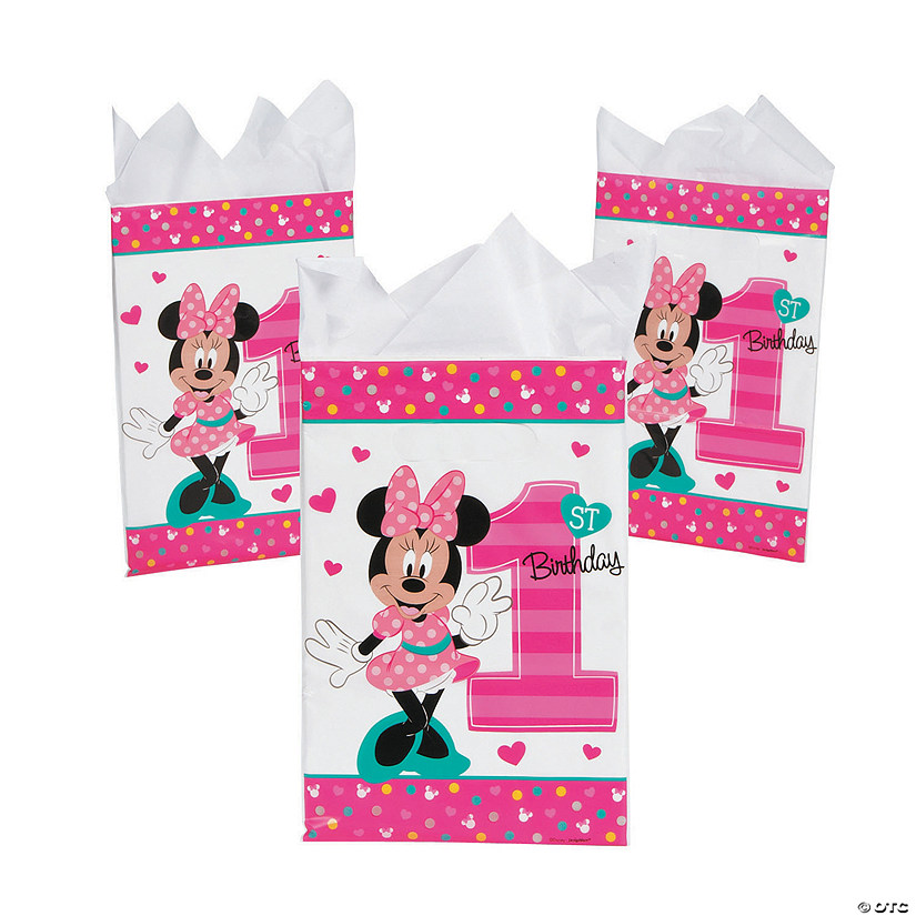 Disney<sup>®</sup> Minnie's Fun To Be One Goody Bags