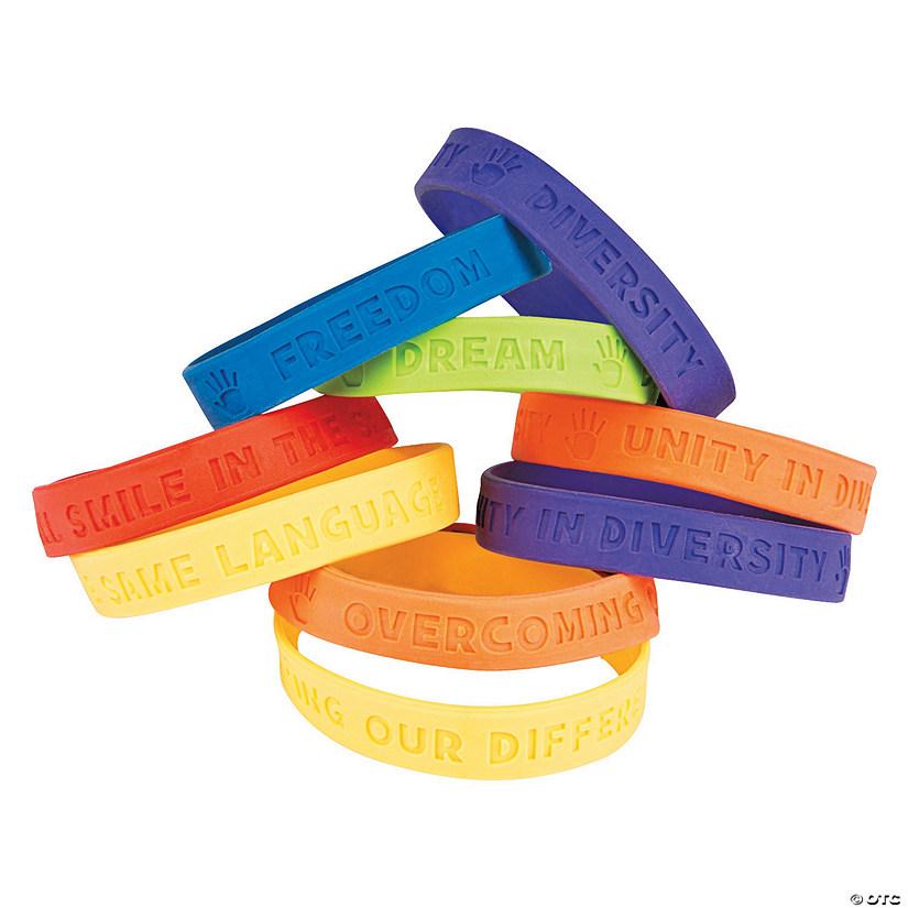 Diversity Rubber Bracelets