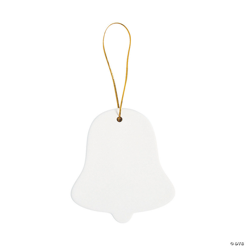DIY Ceramic Bell-Shaped Ornaments