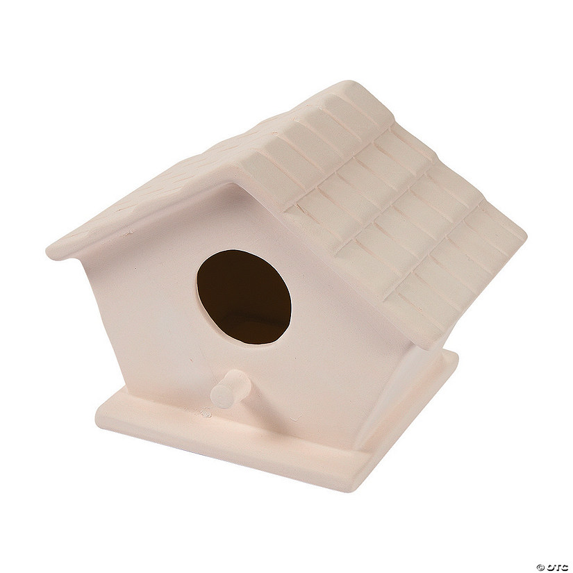 DIY Ceramic Birdhouses