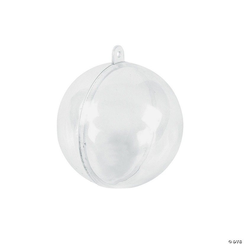 DIY Clear Ornaments - 12