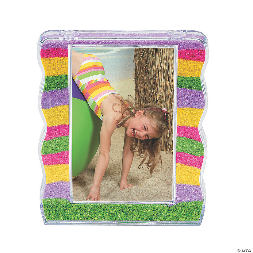 DIY Fillable Sand Art Picture Frames