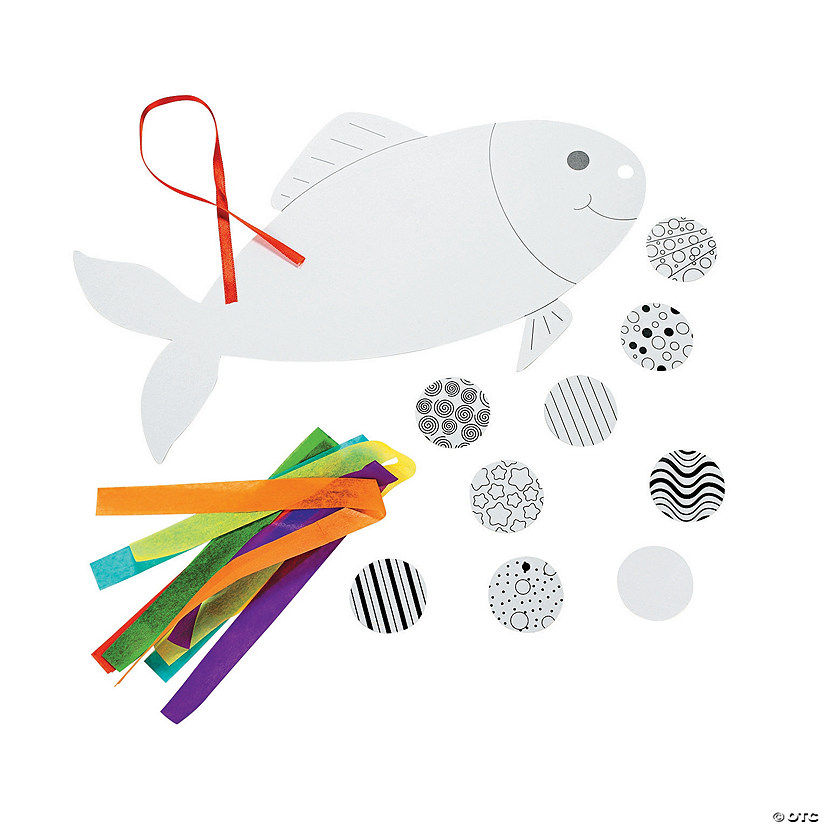 DIY Japanese Fish Mobiles