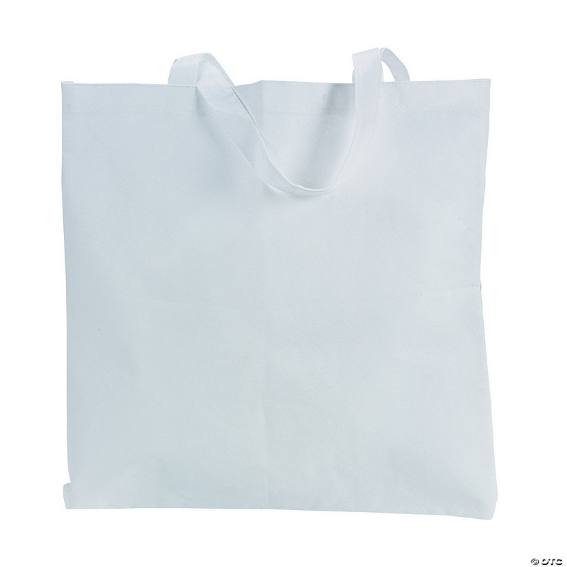 DIY Large White Tote Bags