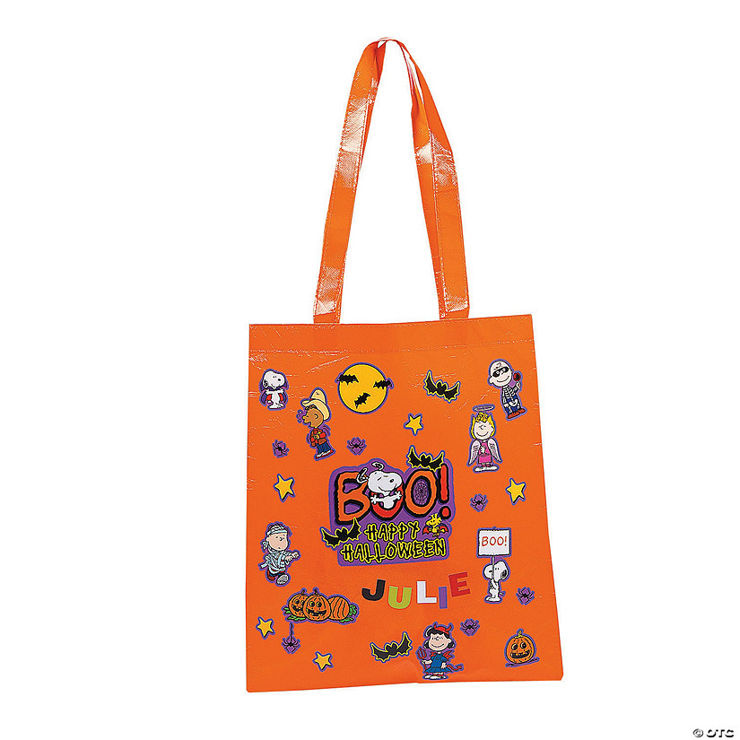 DIY Peanuts® Halloween Laminated Tote Bag Kit