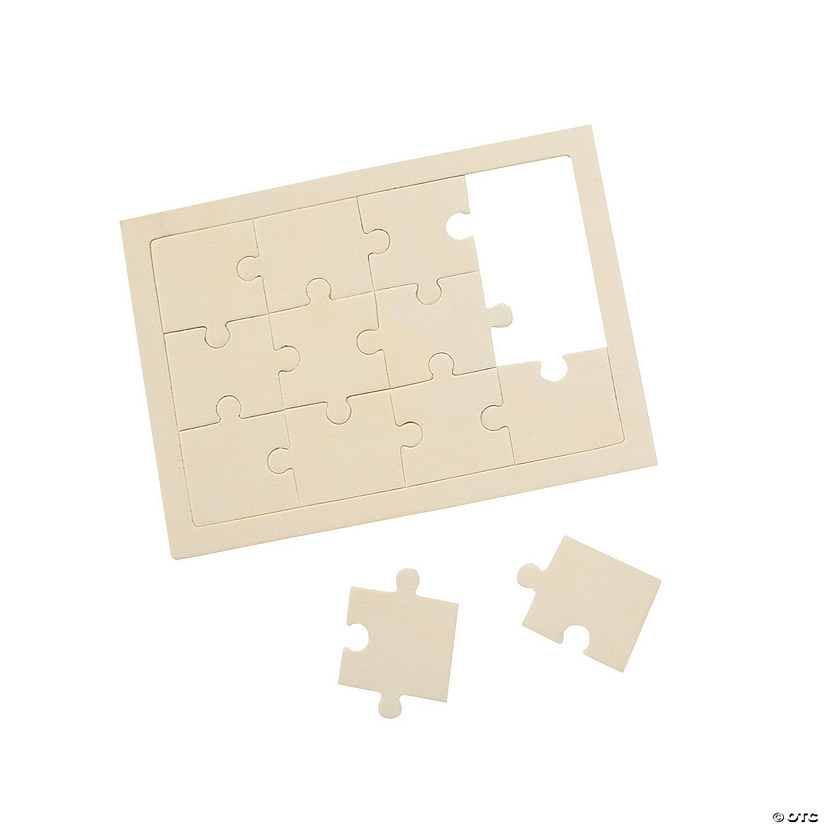 "DIY unfinished 5"" x 7"" Puzzle"